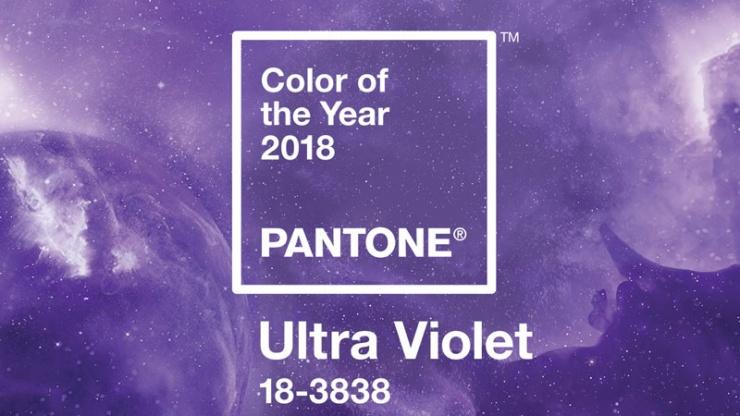 Culoarea anului 2018 Pantone Ultra Violet